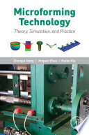 Microforming Technology Book PDF