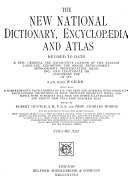 The New National Dictionary Encyclop Dia And Atlas Revised To Date