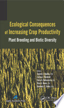 Free Ecological Consequences of Increasing Crop Productivity Book
