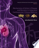 Mechanisms Of Action In Disease And Recovery In Integrative Cardiovascular Chinese Medicine Book PDF