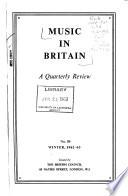 Music in Britain