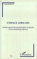 Pdf L'espace africain Telecharger