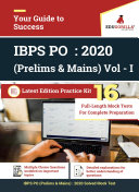 IBPS PO (Prelims & Mains) VOL - 1 2020 | 16 Mock Tests For Complete Preparation ebook