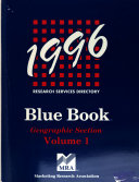 MRA Blue Book  Research Services Directory