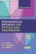 Mathematical Methods for Physics and Engineering Pdf/ePub eBook