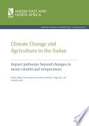 Climate Change And Agriculture In The Sudan Impact Pathways Beyond Changes In Mean Rainfall And Temperature