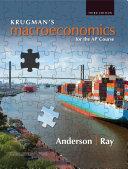 Krugman s Macroeconomics for the AP   Course