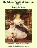 Pdf The Selected Works of Honor_ de Balzac Telecharger