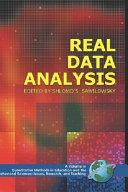 Real Data Analysis Book PDF