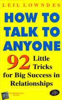 How To Talk To Anyone PDF