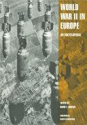 World War II in Europe