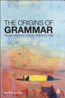 The Origins of Grammar Pdf/ePub eBook