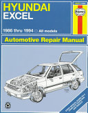 Hyundai Excel Automotive Repair Manual