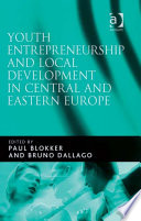 Youth Entrepreneurship And Local Development In Central And Eastern Europe Book PDF