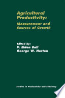 Agricultural Productivity Book