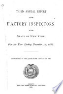 Annual Report on Factory Inspection Book