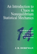 An Introduction to Chaos in Nonequilibrium Statistical Mechanics