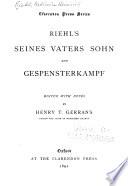 Seines vaters sohn and Gespensterkampf