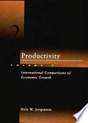 Productivity International Comparisons Of Economic Growth Book PDF
