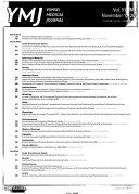 Yonsei Medical Journal Book PDF