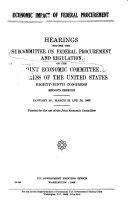 Economic Impact of Federal Procurement