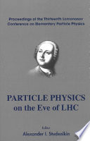 Particle Physics on the Eve of LHC