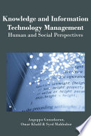 Knowledge and Information Technology Management  Human and Social Perspectives