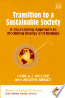 Transition to a Sustainable Society Book