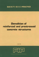 Demolition of reinforced and prestressed concrete structures
