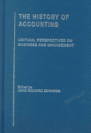 The History of Accounting: Professionalisation of accounting