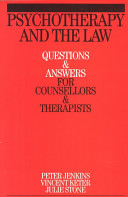 Psychotherapy and the Law