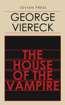 Pdf The House of the Vampire Telecharger