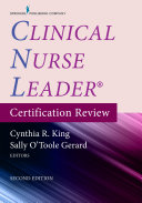 Clinical Nurse Leader Certification Review, Second Edition Elist w App