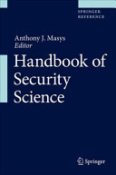 Handbook of Security Science