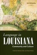 Language in Louisiana
