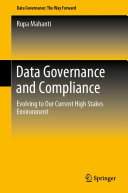 Pdf Data Governance and Compliance Telecharger