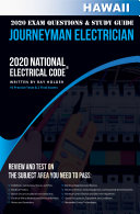 Hawaii 2020 Journeyman Electrician Exam Questions and Study Guide