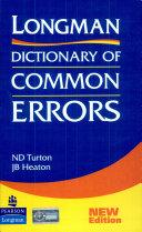 Pdf Longman Dictionary of Common Errors