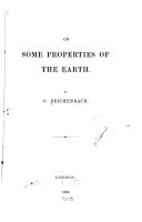 On Some Properties of the Earth