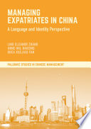 Managing Expatriates in China