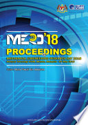 Proceedings of Mechanical Engineering Research Day 2018 Book