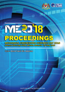 Proceedings of Mechanical Engineering Research Day 2018