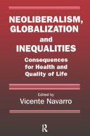 Neoliberalism  Globalization  and Inequalities