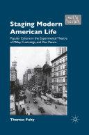 Staging Modern American Life Pdf/ePub eBook