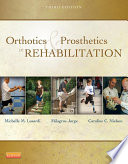 Orthotics And Prosthetics In Rehabilitation E Book