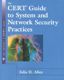 The CERT Guide to System and Network Security Practices Book
