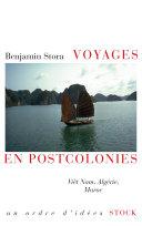 Pdf Voyages en postcolonies Telecharger
