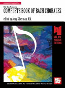 Complete Book of Bach Chorales Pdf/ePub eBook
