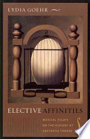 Elective Affinities Book