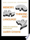Memory, Thinking and Language